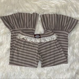 Little Girl's Persnickety Ruffle Pants